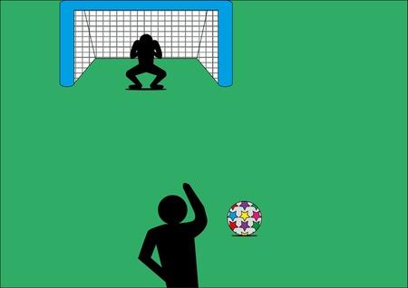 goal kick: Goal kick