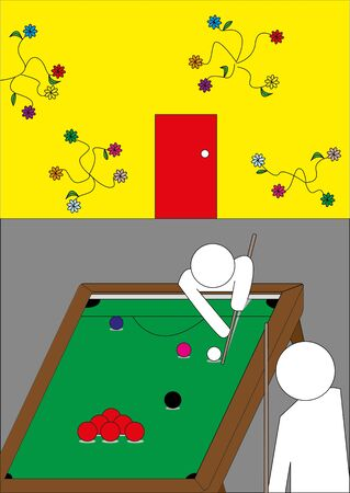 Snooker Stock Vector - 18311095