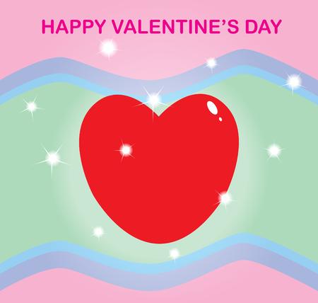 Happy valentine s day Illustration