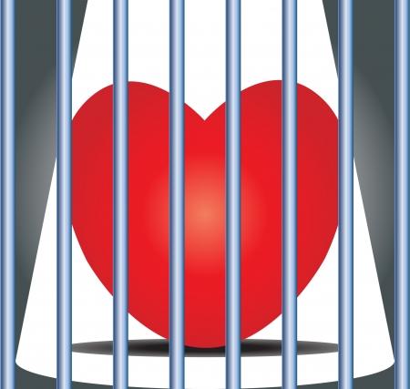 Valentine cage love
