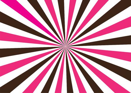 Color burst Illustration
