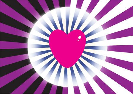 espejismo: Explosi�n de color con el coraz�n