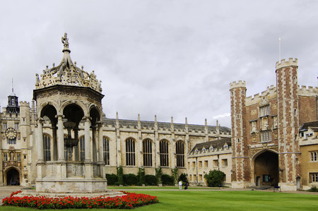 Great Court of Trinity college, Cambridge