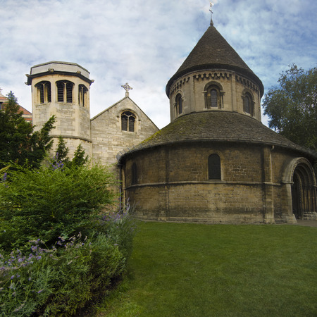11th century: One of only four round Norman church in England, 11th Century, Cambridge