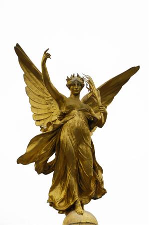 allegorical: Allegorica figure  of Victory  on top of Queen Victoria Memorial