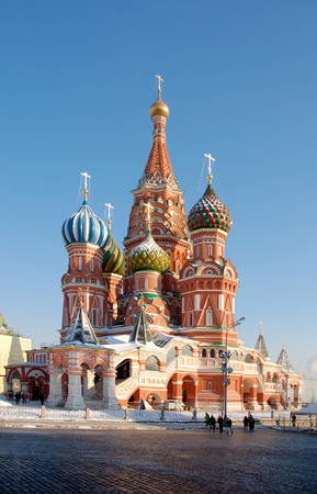 Cathedral of Vasily the Blessed -one of most recognizable landmark in all of Russia Stock Photo - 1622979