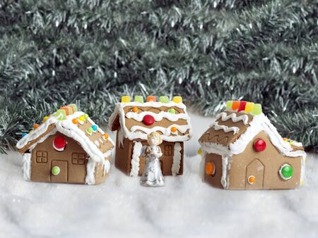 made by hand: hand made gingerbread houses