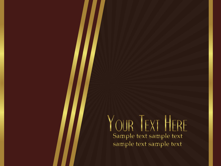 A very elegant vector background perfect as a template for cards or announcments Vector