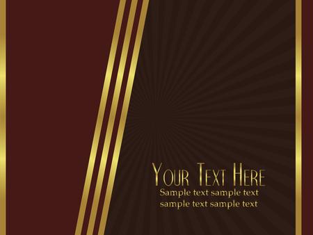 elegant vector: Uno sfondo molto elegante vettoriale perfetto come un modello per carte o announcments