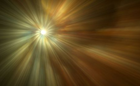 near: A beautiful abstract digital art background of light rays. Stock Photo