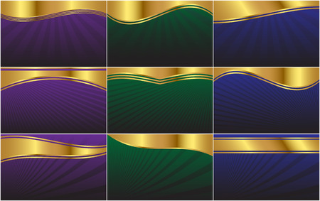 A collection of background vectors formatted to a 1680 X 1050 resolution widescreen display aspect ratio. Perfect as a web-page background, or for HD or widescreen video. Illustration