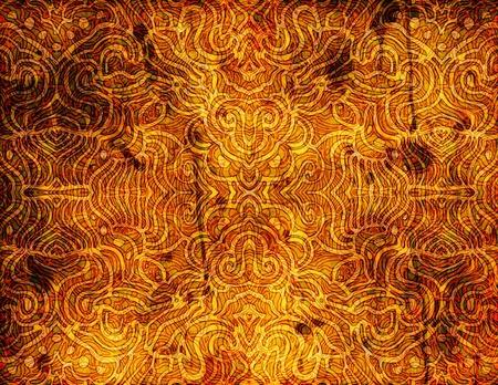 hintergr�nde: Ein sehr reich verzierten, komplizierte und detaillierte abstrakte Kunstwerk - perfekt als Hintergrund f�r Ihren eigenen Entwurf.