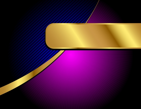 A letter sized, elegant and professional vector background with space for your text. Illustration