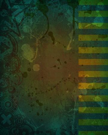 dank: A unique, custom designed grunge style background image Stock Photo