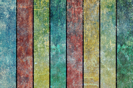 wornout: Grunge background texture design with vertical stripes of alternating colors. Stock Photo