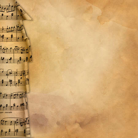 music abstract: old retro grunge musical background for desing