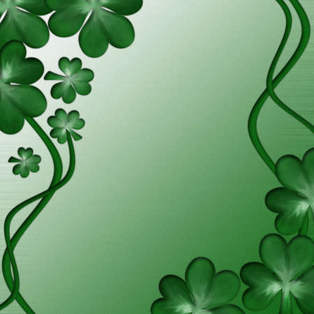 Card for design on Saint Patrick Day Stock Photo - 6172035