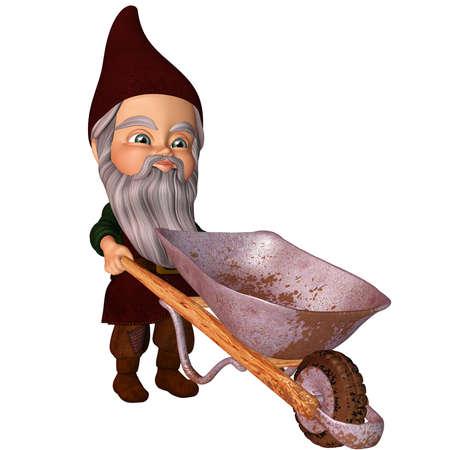 carretilla: Jard�n Gnome