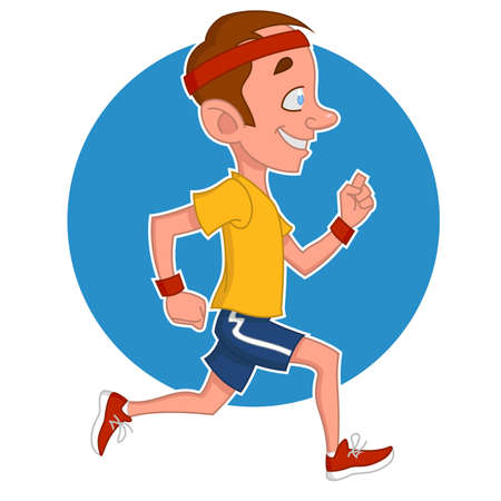 hardy: Running man.
