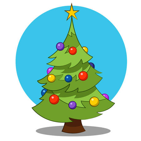 december 25th: christmas tree.