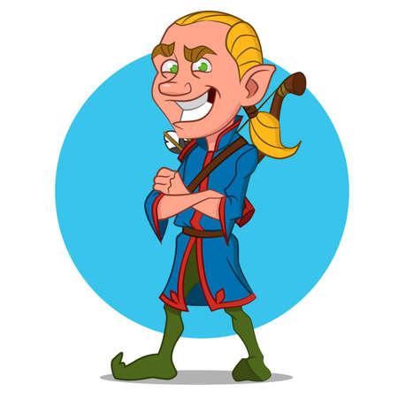 Good elf.  Ilustração