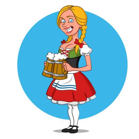 waitress Oktoberfest.