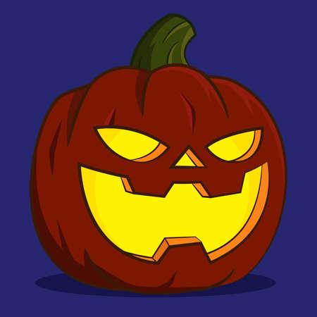 pumpkin lantern.