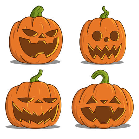 all saints day: pumpkins for Halloween.