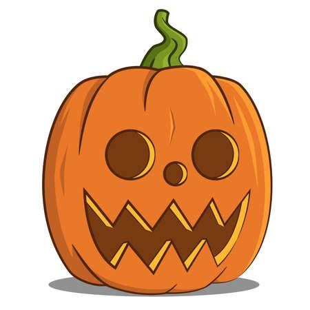 Jack pumpkin head. Ilustração