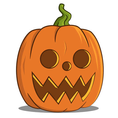 pumpkin head: Jack pumpkin head. Illustration