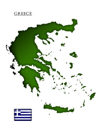 map of Greece Stock Photo - 6407698