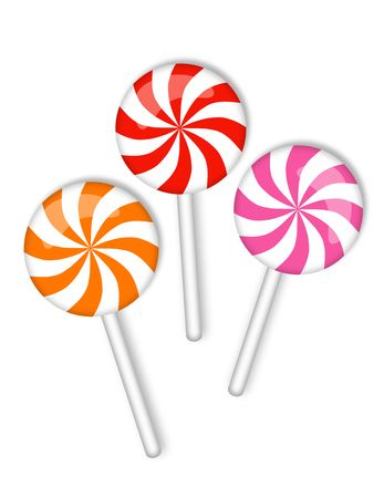 candy on a stick Stock Photo - 8075293