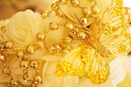 Fabulas golden decoration photo