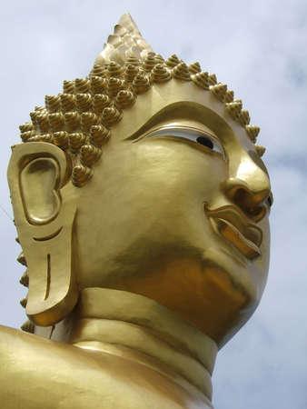 idolatry: Big Buddha at Pattaya, Thailand (Phra Tmanak Hill - Khao Phra Bat Temple)
