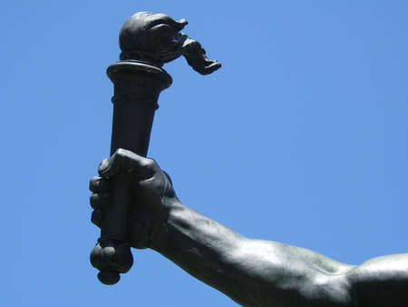 This is a detail of a sculpture Stock Photo - 228723