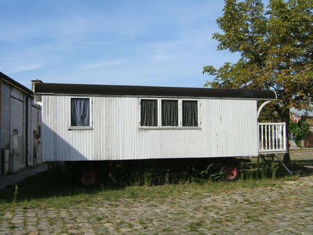 Nice and old camping house