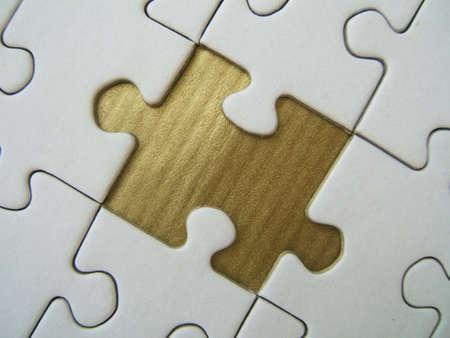 Golden missed piece