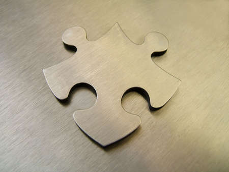 Steek jigsaw Stock Photo - 294895
