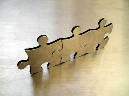 Jigsaw network Stock Photo - 294894