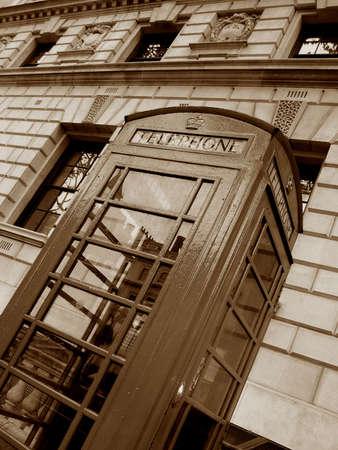 Retro London telephone