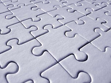 Blue jigsaw background Stock Photo - 314103