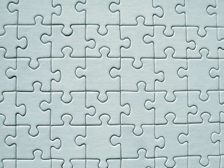 graphicals: Jigsaw pattern Stock Photo