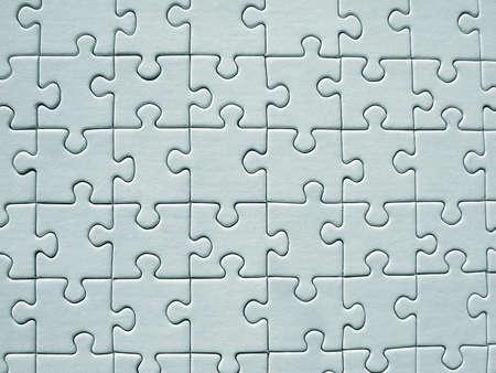 Jigsaw pattern Stock Photo