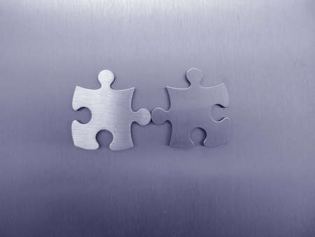 Jigsaw together Stock Photo - 314108