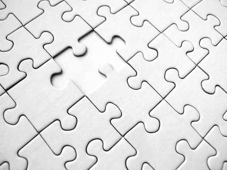 puzzle background: White jigsaw puzzle background (conceptual)