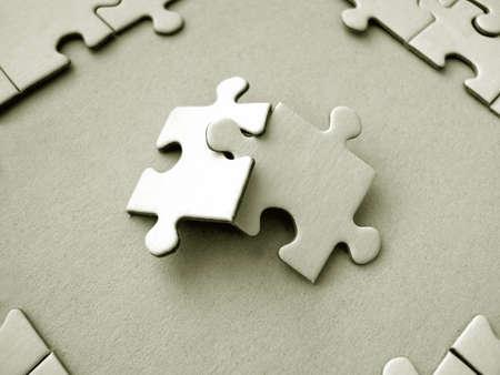 Jigsaw pieces Stock Photo - 334274