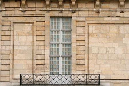 Stylish residence windows and balcony photo