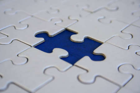 Conceptual jigsaw design photo