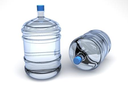 water jug: mineral water
