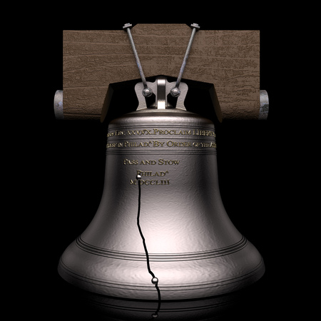 liberty bell: Liberty Bell Stock Photo